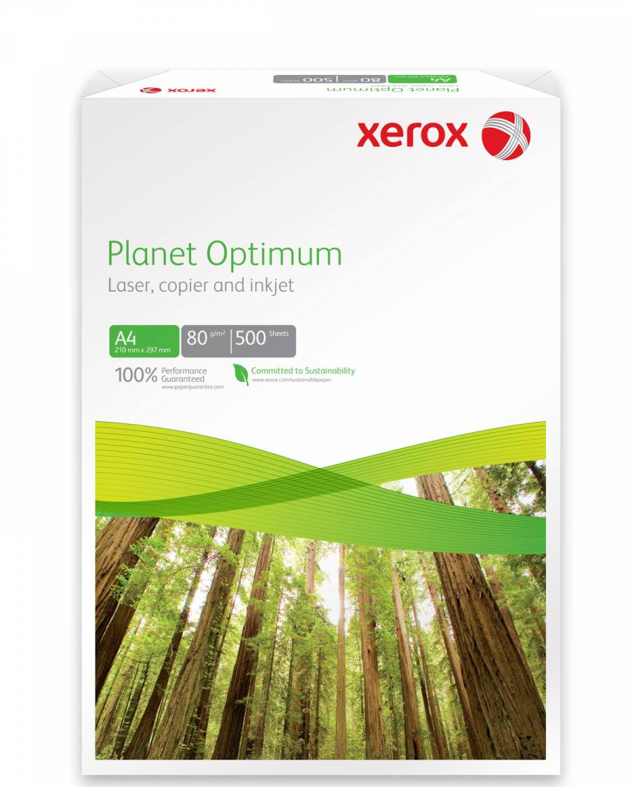 Hartie Copiator A4 Recycled Planet Optimum Xerox