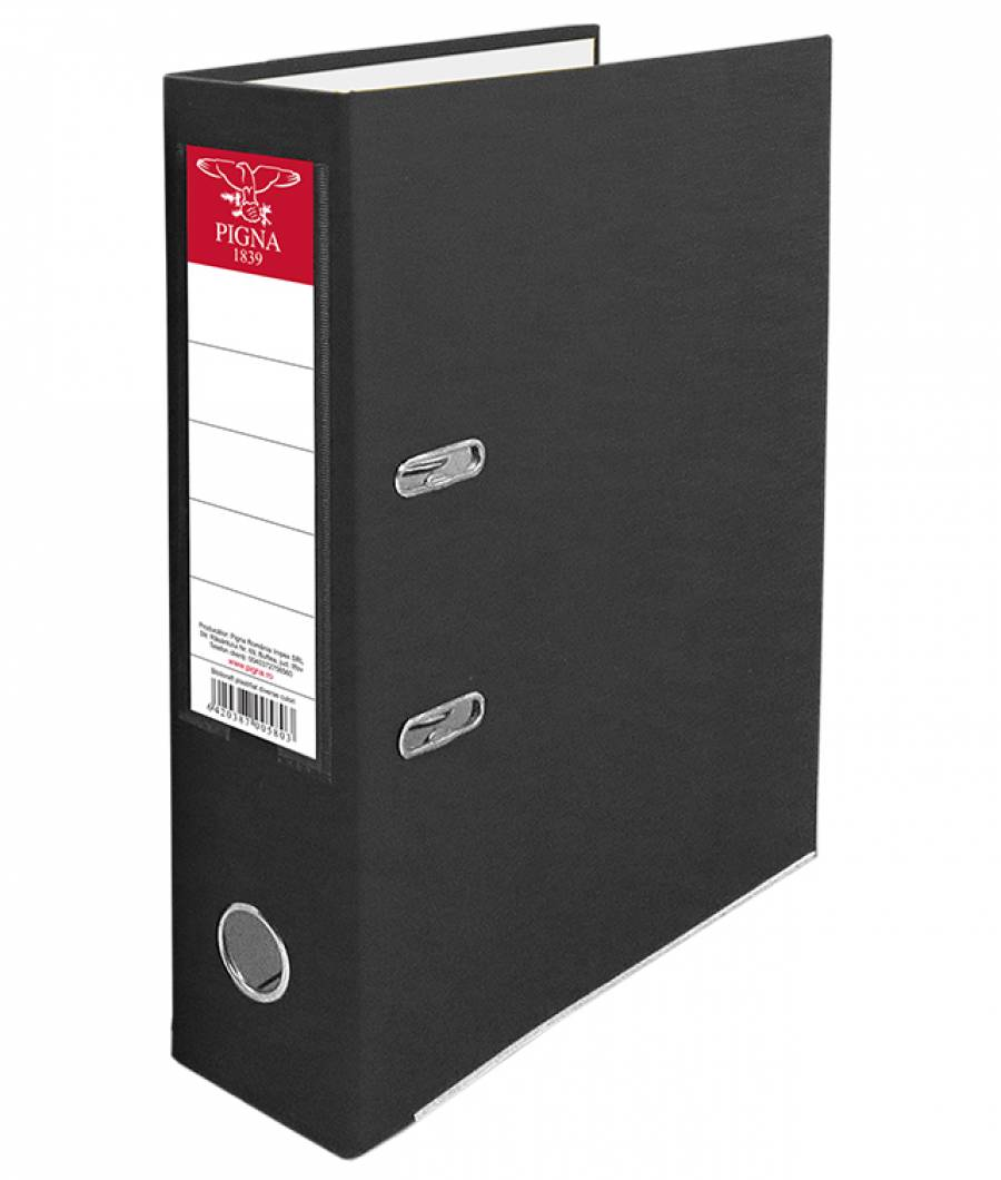 Biblioraft PIGNA PP 7,5 cm negru