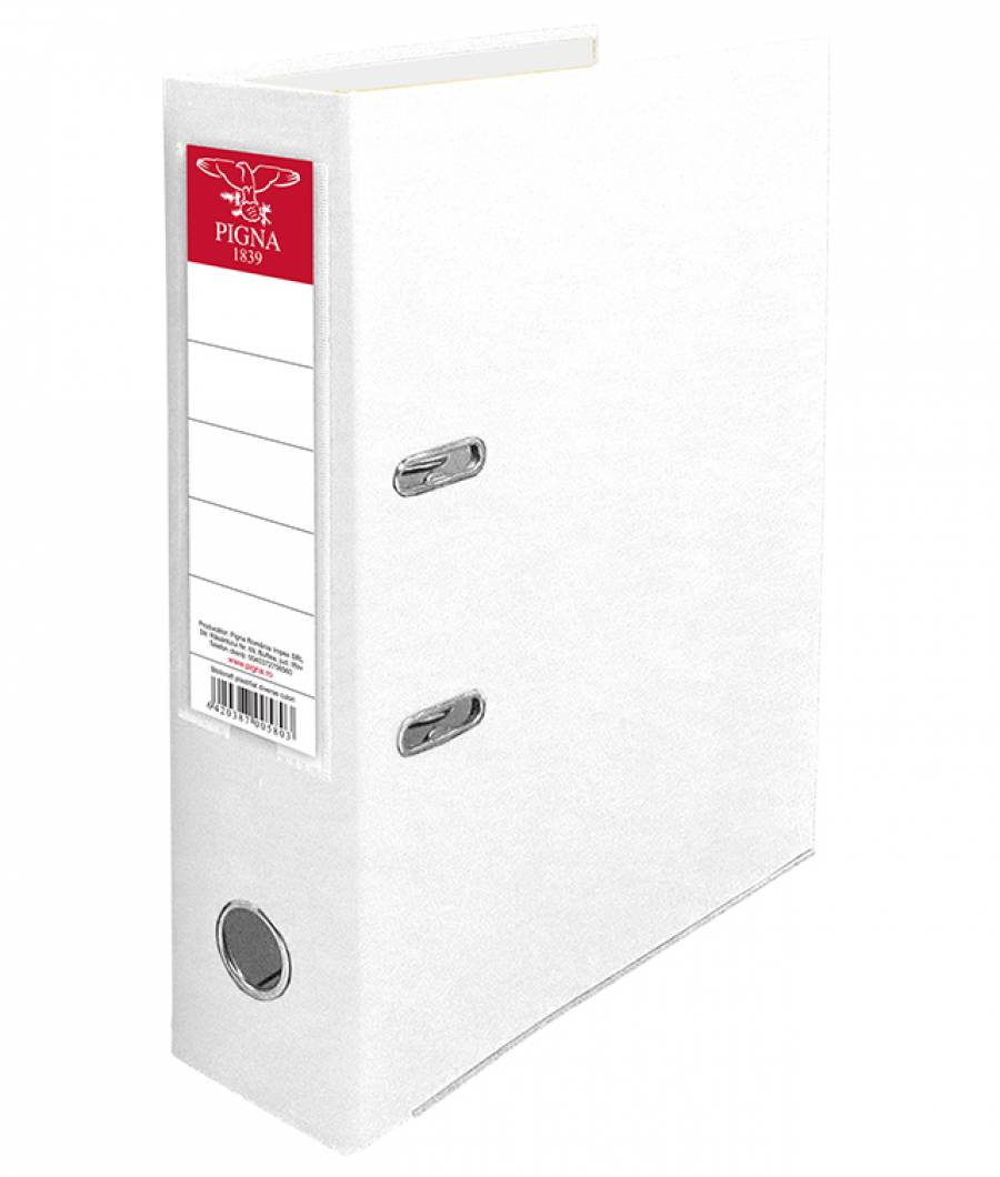 Biblioraft PIGNA PP 7,5 cm alb