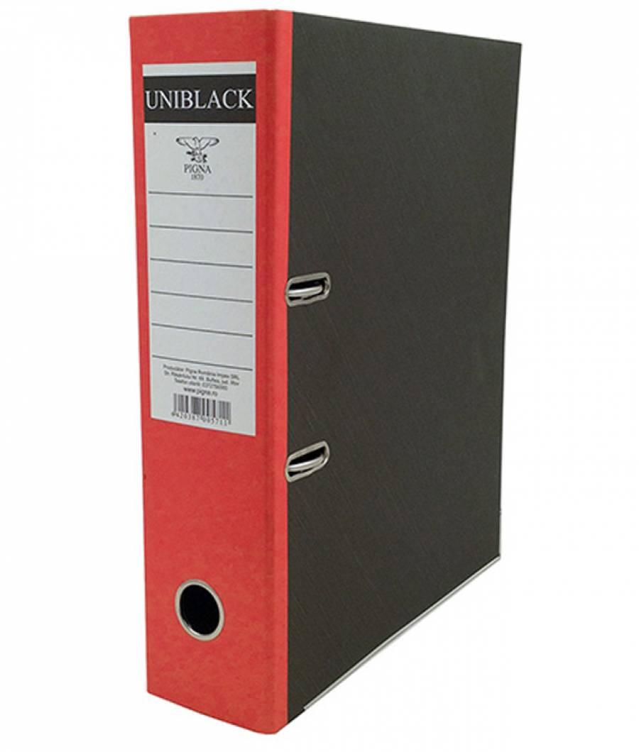 Biblioraft UNIBLACK 7,5 cm rosu