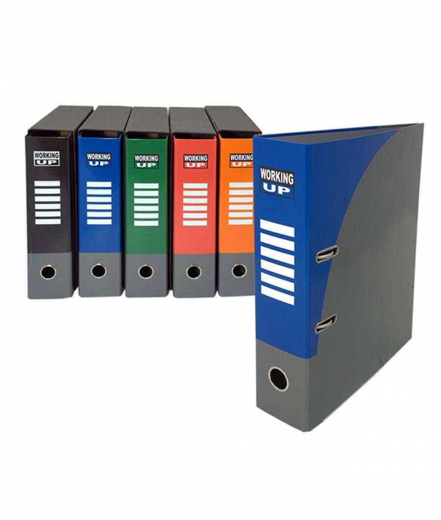 Biblioraft WorkingUp PL 8cm albastru, cu cutie