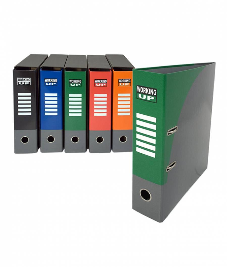 Biblioraft WorkingUp PL 8cm verde, cu cutie