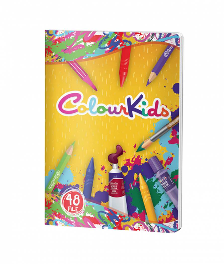 Caiet CK. A5 48file, matematica, Colour KIDS