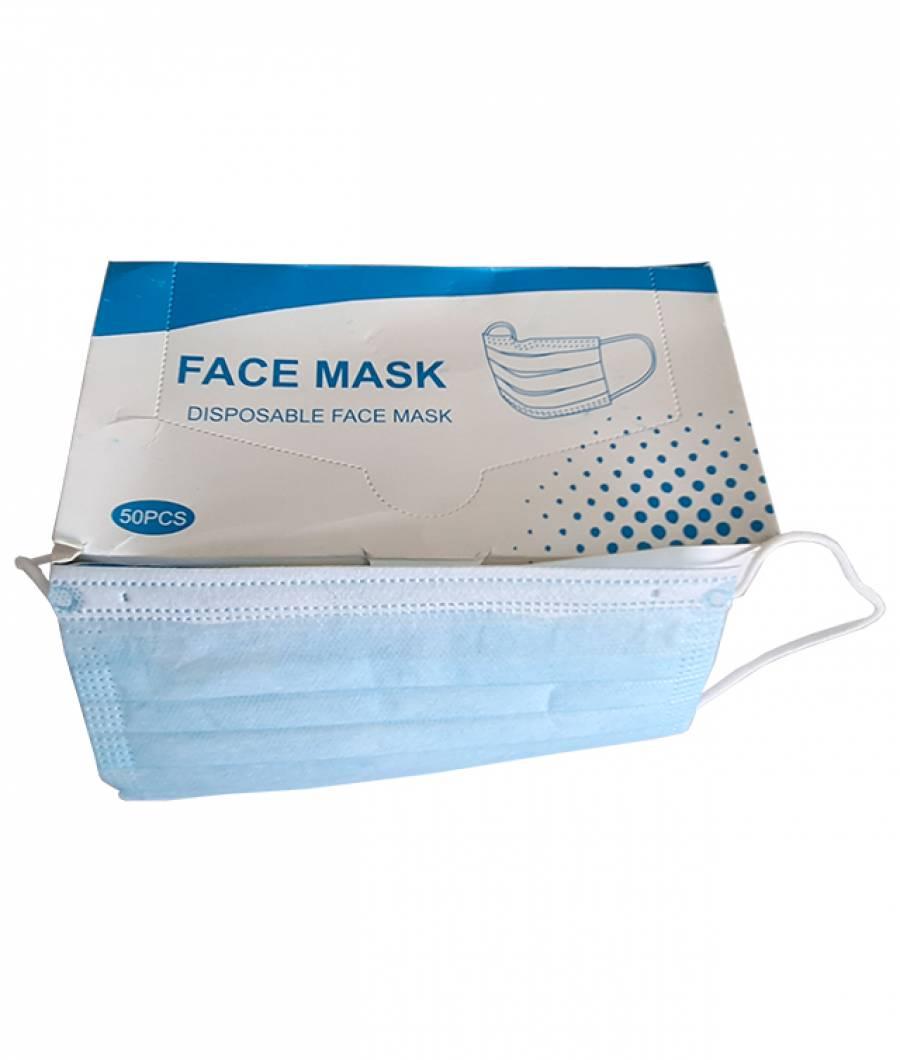 Masca faciala set 50 buc protectie 3staturi