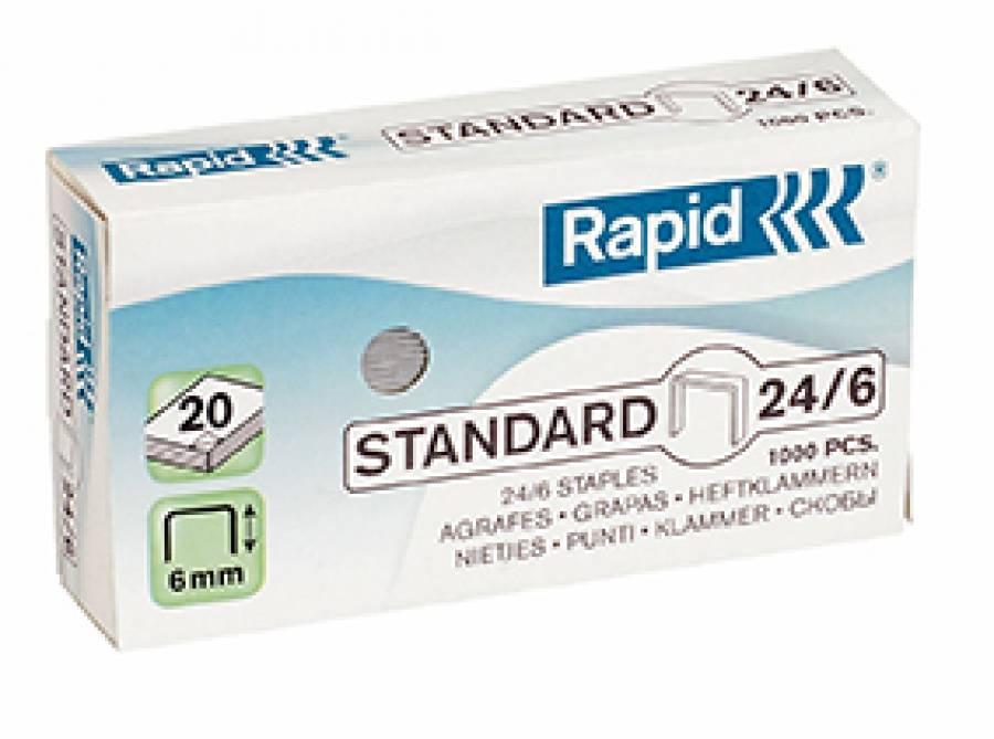 Capse 24/6 Standard Rapid