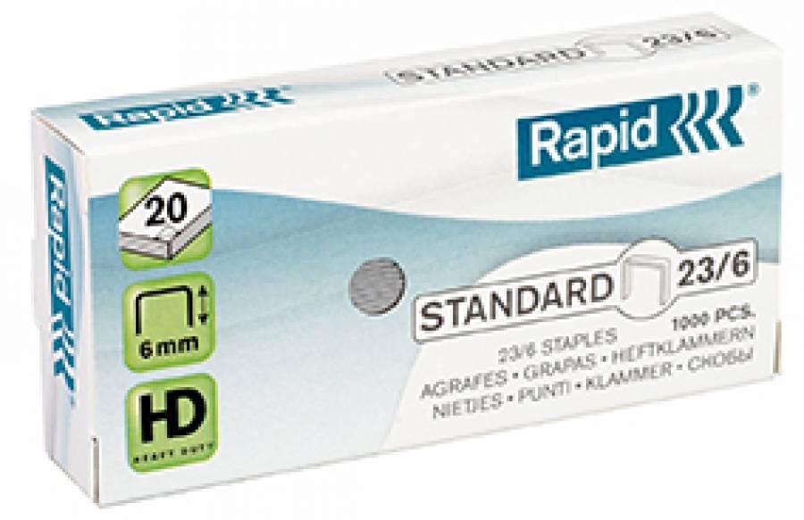 Capse 23/6 Standard Rapid